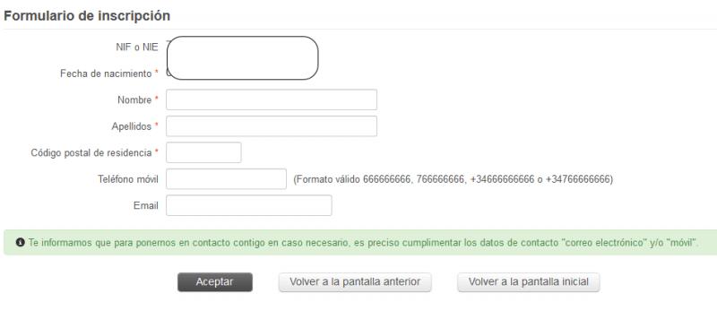 Paso 4 - Cita SAE - Servicio Andaluz de Empleo